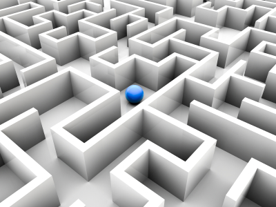 blue-ball-in-a-maze