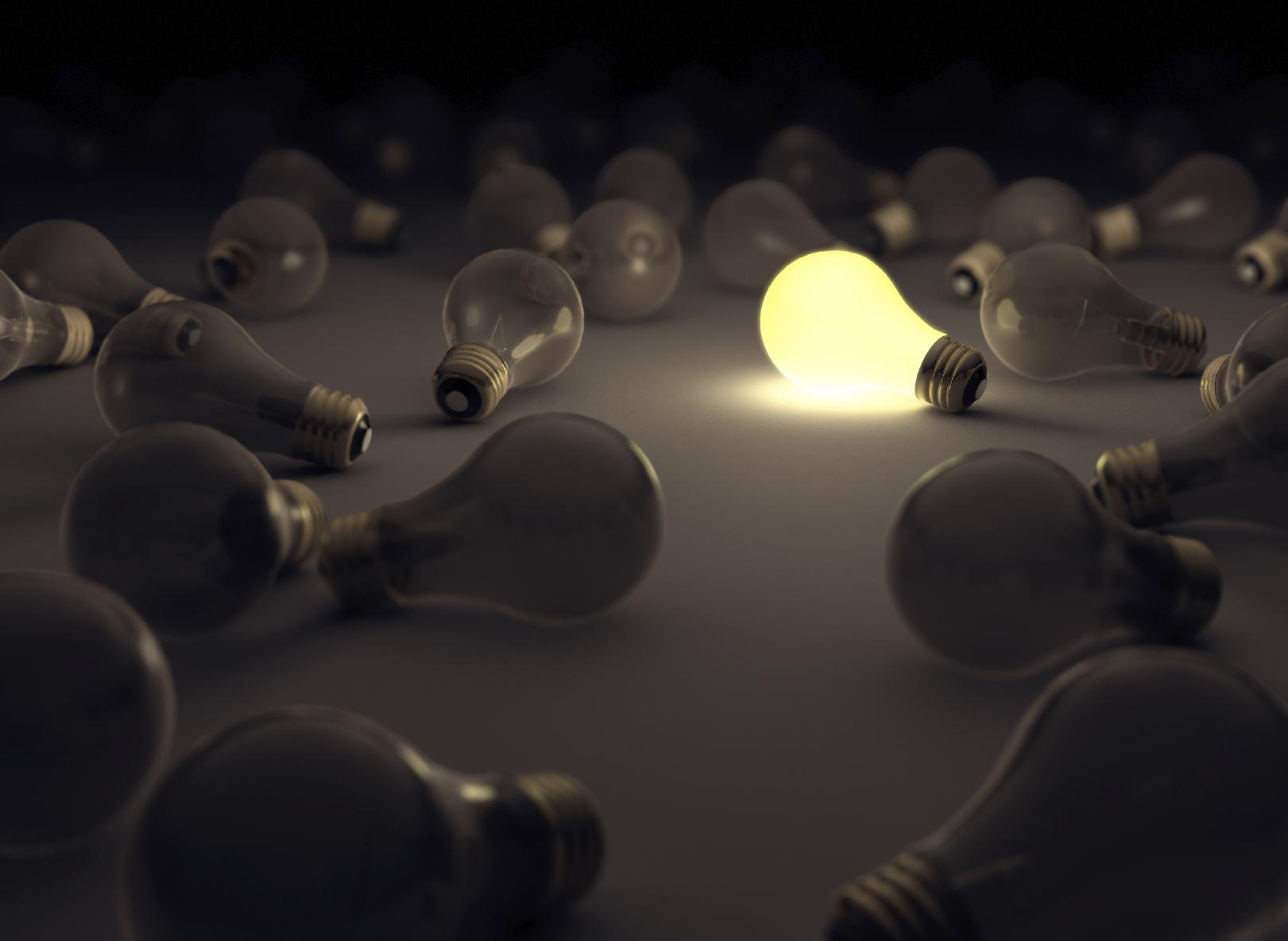 1-bright-bulb-among-many