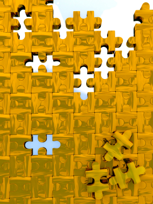 Puzzle without parts