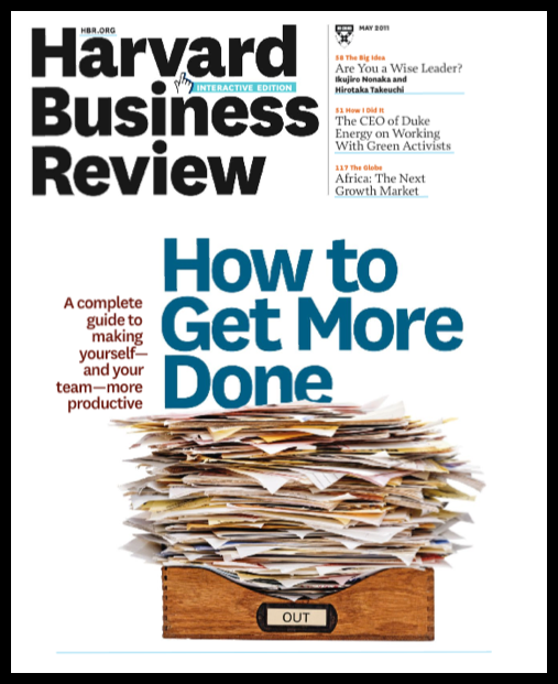 HBR Getting More Done