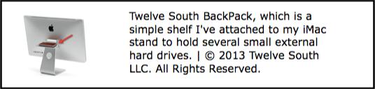 Twelve South Backpack