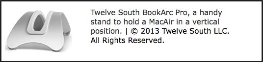 Twelve South BookArc Pro