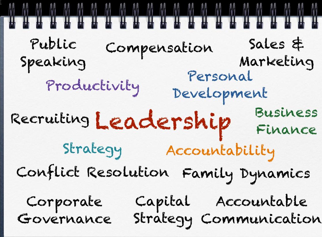 Rising Executive Program Subjects