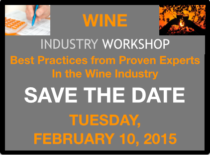 Wine Industry Workshop, Tuesday, February 10, 2015