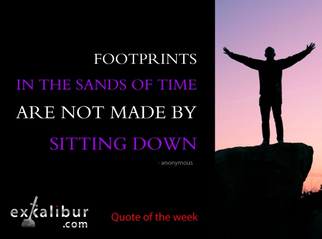 Monday Quote sitting down for blog