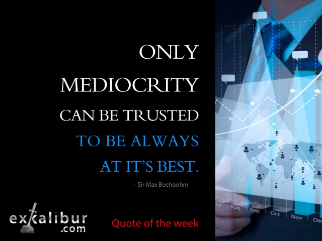 monday quote mediocrity 5 blog