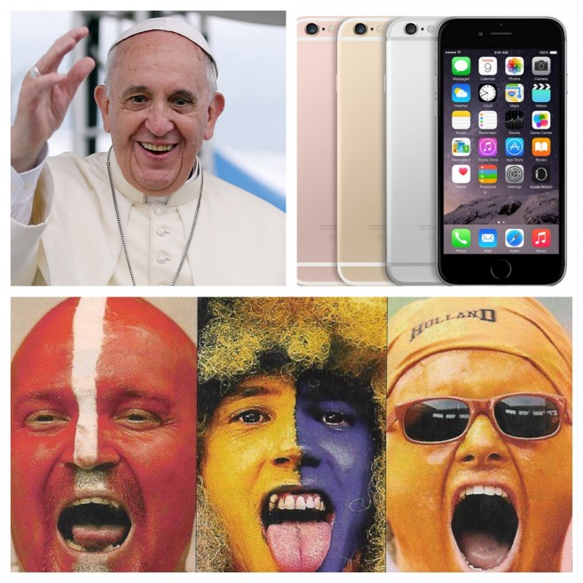 Pope Apple Football