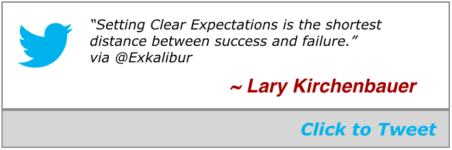 Fri blog click to tweet clear expectations