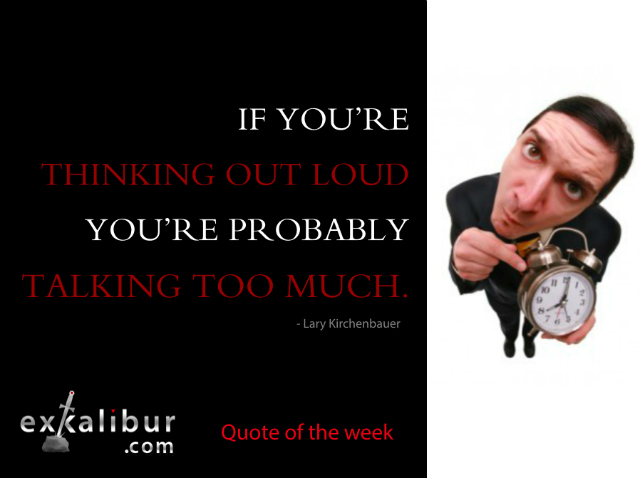 Quotes On Talking Too Much: Mon Quote Talking Too Much Clock Lary For Blog