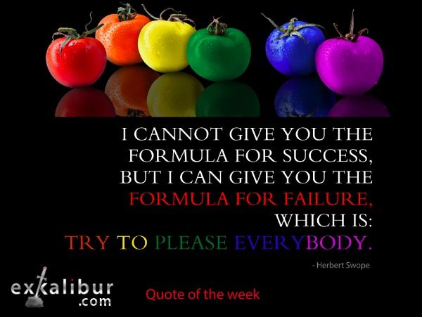 mon quote try to please everybody for blog
