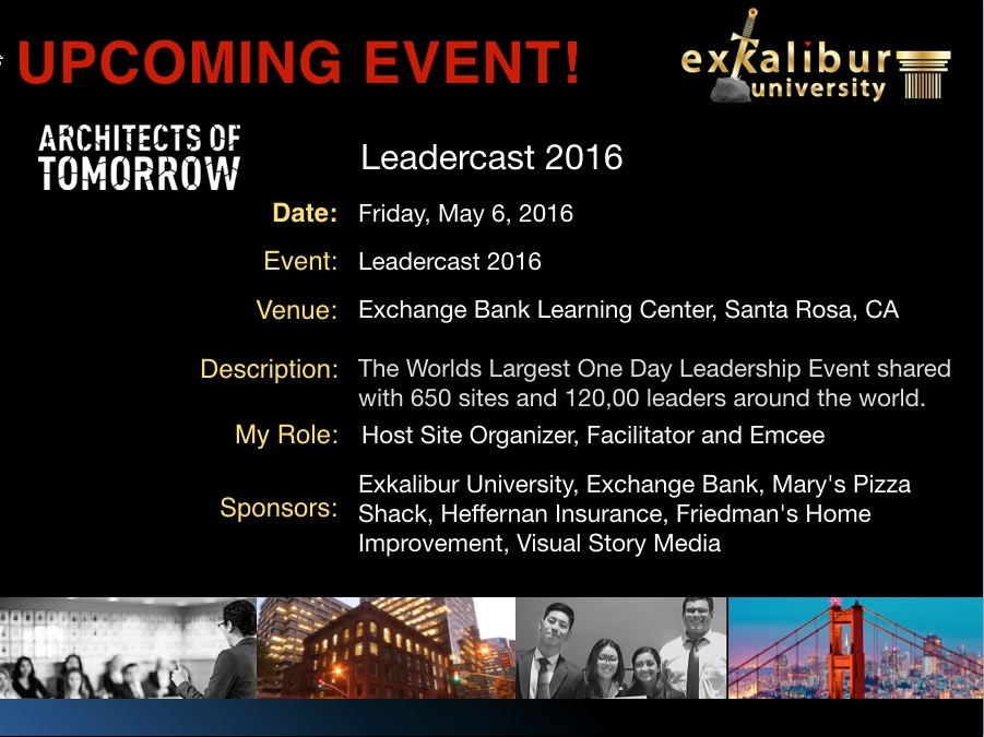 ExU Event Leadercast 2016 050616