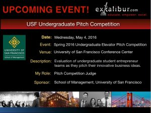 Read more about the article I'm a Judge for the USF Undergraduate Pitch Competition. Again. Fun!