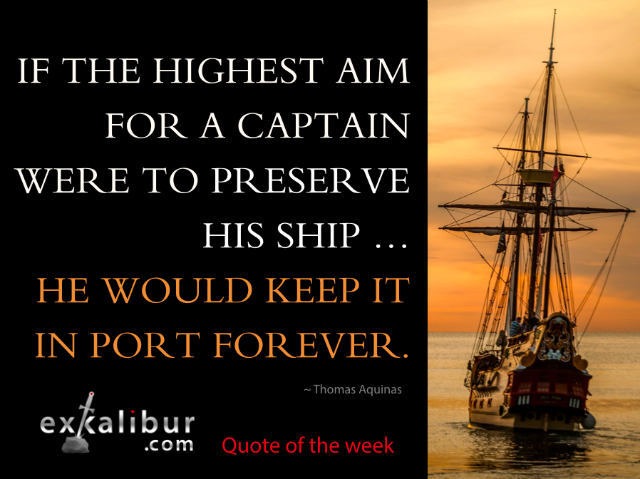 Mon quote keep it in port