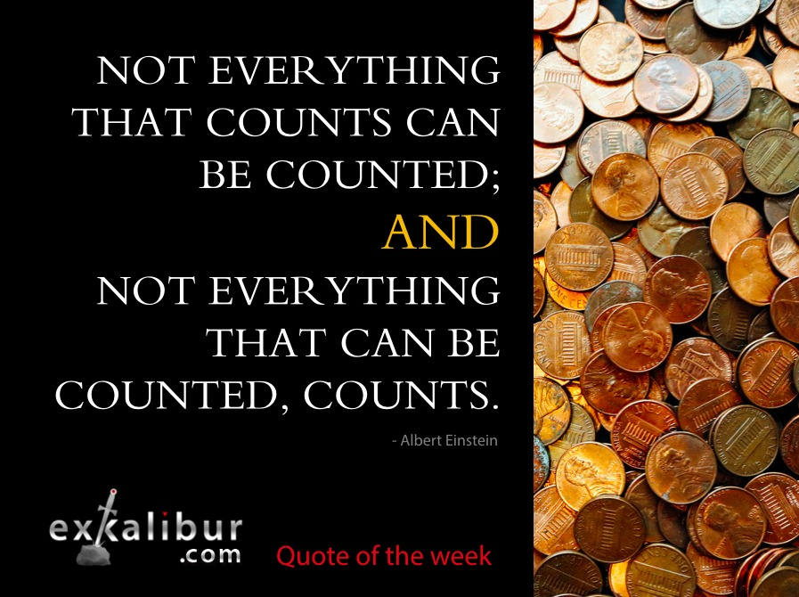 It's Not Easy to Count What Matters