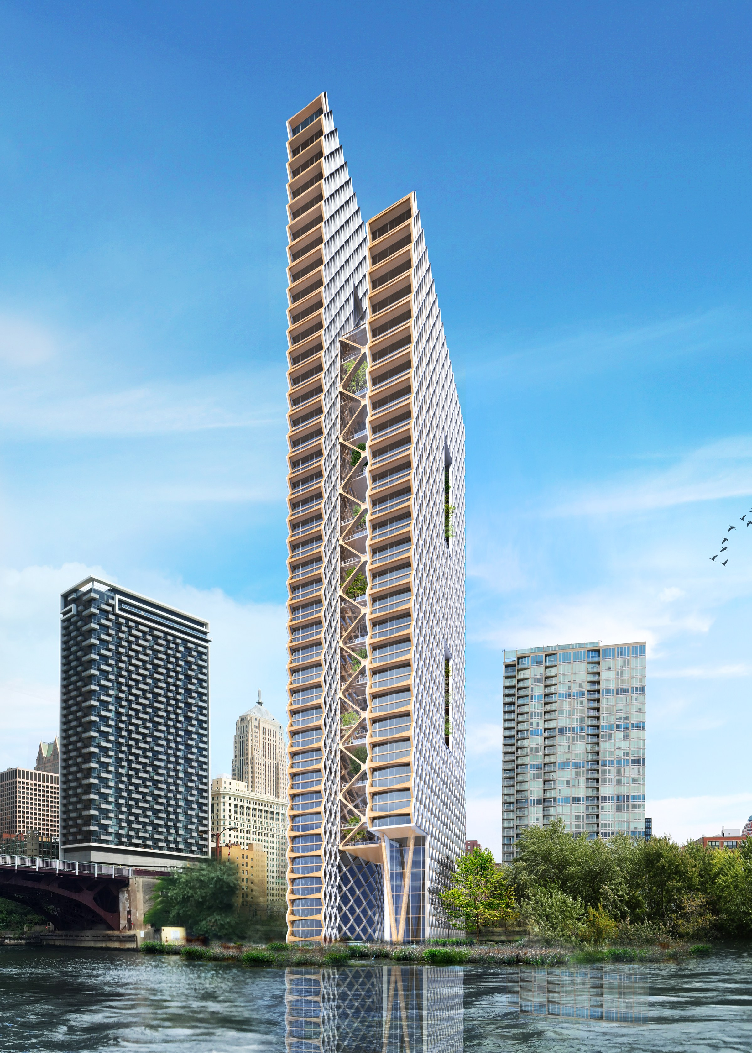 Skyscapers Made of Wood?