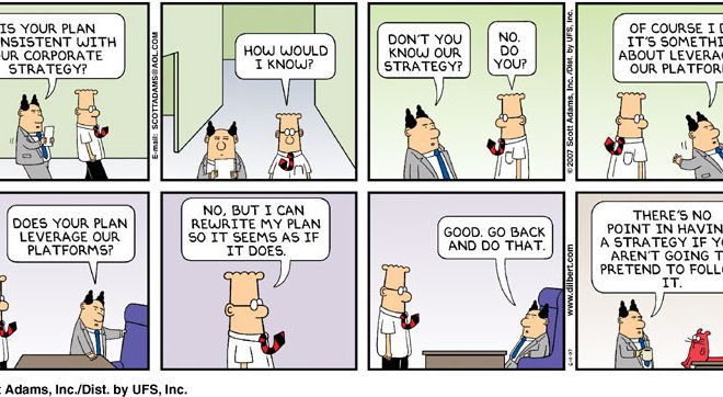 Scott Adams Strategy Planning
