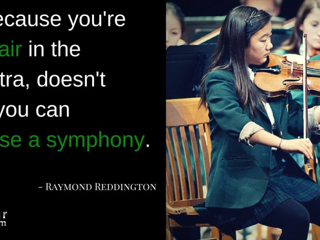 Mon quote first chair doesnt mean compose symphony