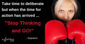 Stop Thinking and go