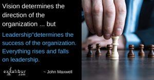 Vision & Leadership determine success